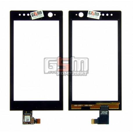 Тачскрин для Sony ST25i Xperia U, черный