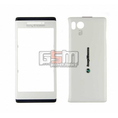 Корпус для Sony Ericsson U10 Aino, белый, копия ААА