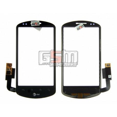Тачскрин для Huawei U8800 Ideos X5, черный