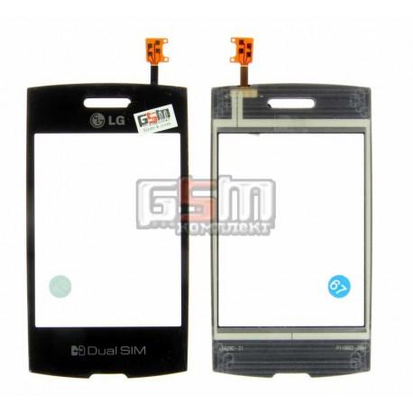 Тачскрин для LG P520, черный