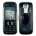 Корпус для Nokia 5130, синий, копия ААА, с клавиатурой