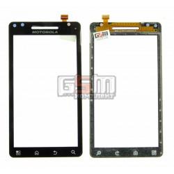 Тачскрин для Motorola A953 Milestone 2, A955 Droid 2, черный