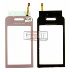 Тачскрин для Samsung S5230 Star, розовый