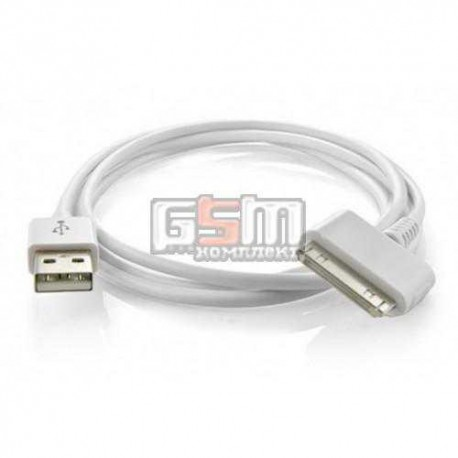 USB дата-кабель для Apple iPhone 2G, iPhone 3G, iPhone 3GS, iPhone 4, iPhone 4S; планшетов Apple iPad, iPad 2, iPad 3; MP3-плеер