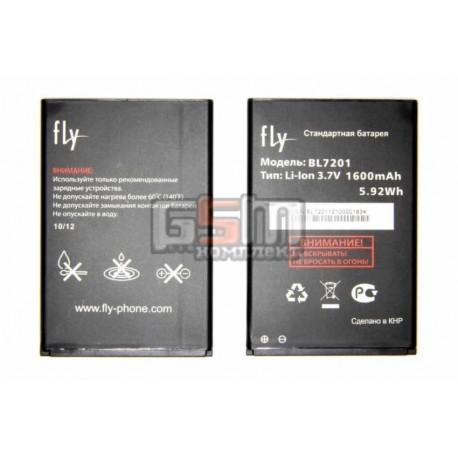 АккумуляторBL7201дляFlyIQ445,оригинал,(Li-ion3.7V1600mAh),(P104-G18000-010/P104-G18000-000)