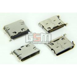 Коннектор зарядки для Samsung D520, D800, D820, D830, D840, D900, D900B, E250, E480, E490, E500, E690, E780, E840, E870, E900, P300, P920, U600, X830, Z400, Z540, оригинал