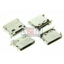 Коннектор зарядки для Samsung C520, E200, E390, E420, E570, E590, E740, E950, I520, I600, M300, U300, Z230, оригинал, #3710-002442