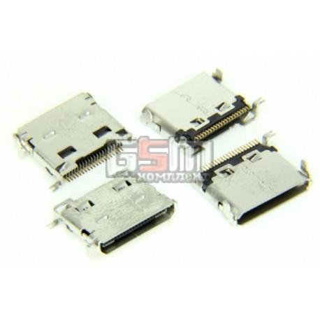 Коннектор зарядки для Samsung C520, E200, E390, E420, E570, E590, E740, E950, I520, I600, M300, U300, Z230, оригинал, #3710-0024