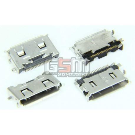 Коннектор зарядки для Samsung C3050, I6220, M8800, S3310, S5230 Star, S5230 TV, S5230W, S5233, S7330, оригинал, #3710-002681