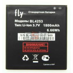 АккумуляторBL4253дляFlyIQ443Trend,оригинал,(Li-ion3.7V1800mAh),(P104-F99000-010)