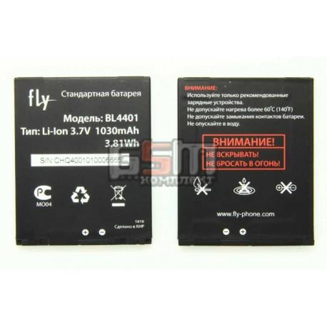 Аккумулятор для Fly Q400, оригинал, (121000663), (BL4401)