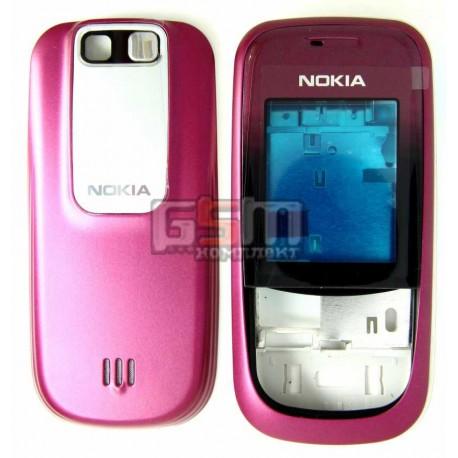 Корпус для Nokia 2680s, красный, копия ААА, с клавиатурой