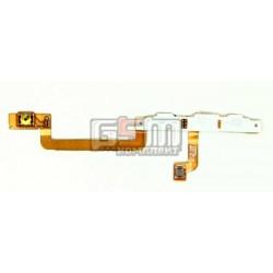 Шлейф для Nokia 800 Lumia, кнопки камери, бокових клавіш, з компонентами