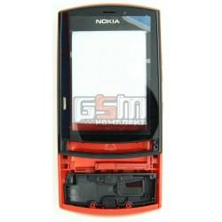 Корпус для Nokia 303 Asha, красный, high-copy