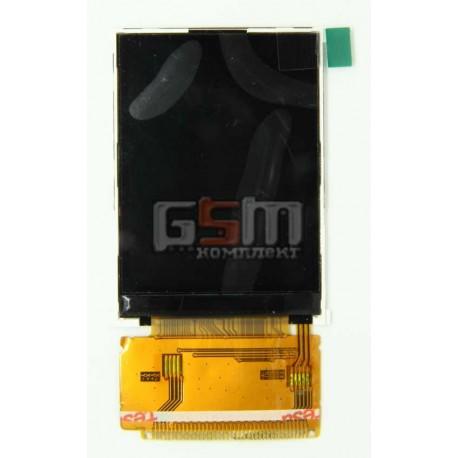 Дисплей для Fly E131, original, 39 pin, #X05FSTN12864JP/FT024SQV212N-V01