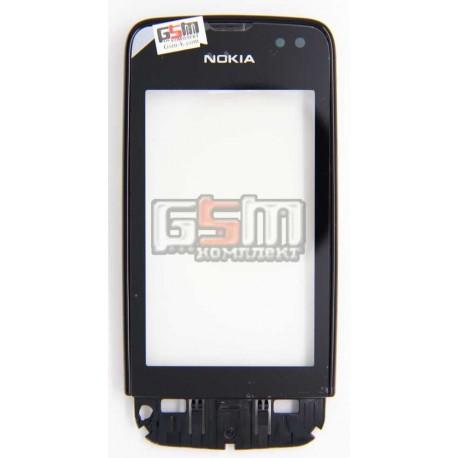 Тачскрин для Nokia 311 Asha, черный передней панелью