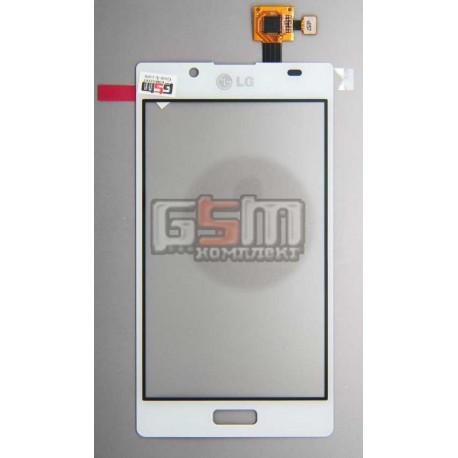 Тачскрин для LG P705 Optimus L7, белый, оригинал