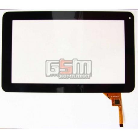 """Tачскрин (сенсорный экран, сенсор) для китайского планшета 9"""", 12 pin, с маркировкой MF-198-090F-2, черный"""