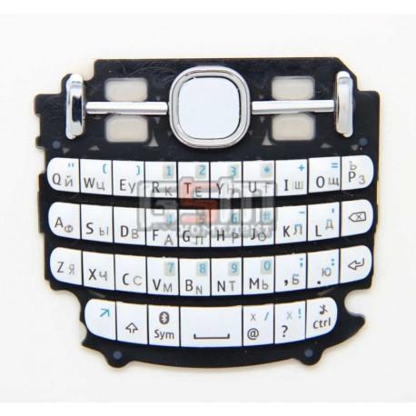 Клавиатура для Nokia 200 Asha, белый, русская