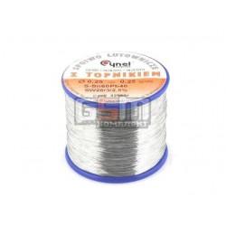 Припой Cynel LC60-0.25/0.25, Sn 60%, 0,25 мм, 250 г