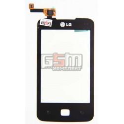 Тачскрин для LG E510, черный, оригинал