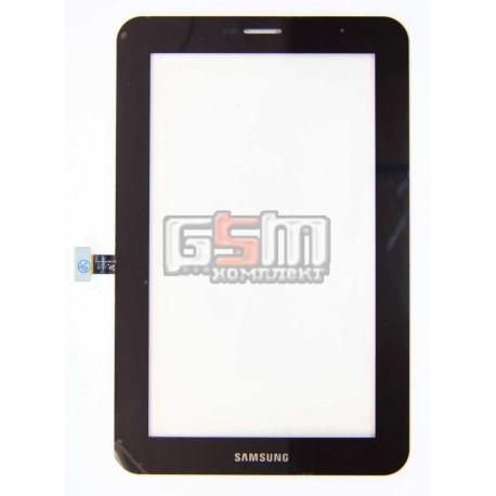 Тачскрин для планшета Samsung P3100 Galaxy Tab2 , P3110 Galaxy Tab2 , черный, (версия 3G)