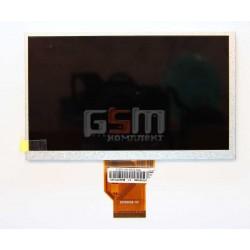 "Экран (дисплей, монитор, LCD) для китайского планшета 7"", 50 pin, с маркировкой AT070TN90 , 20000938-00, M7000, Gemei G3, Eclast"