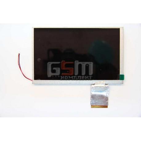 """Экран (дисплей, монитор, LCD) для китайского планшета 7"""", 60 pin, с маркировкой A070VW04 v.0, для Asus EEE PC700/ PC701 , LAPTOP"""