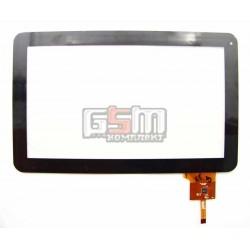 """Тачскрин (сенсорный экран, сенсор ) для китайского планшета 10"""", 12 pin, с маркировкой AD-C-100050-1-FPC, MF-187-101F-7, MidPad"""