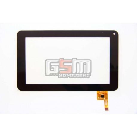 """Тачскрин (сенсорный экран, сенсор ) для китайского планшета 7"""", 12 pin, с маркировкой FPC-TP070072(DR1334), для U25GT (китай), ч"""