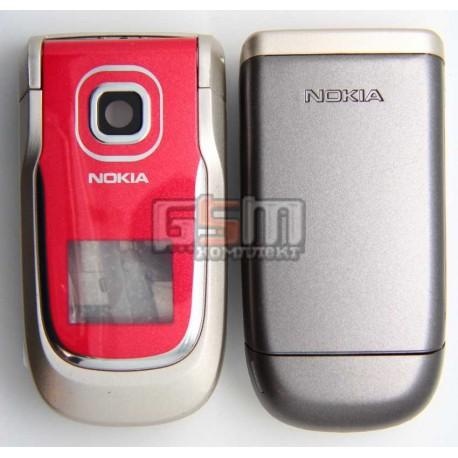 Корпус для Nokia 2760, красный, копия ААА