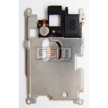 Динамик полифонический (звонок) для мобильного телефонов Samsung S3850 с вибромотором в рамке, оригинал