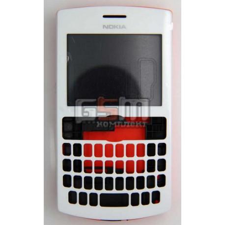 Корпус для Nokia 205 Asha, оранжевый, копия ААА