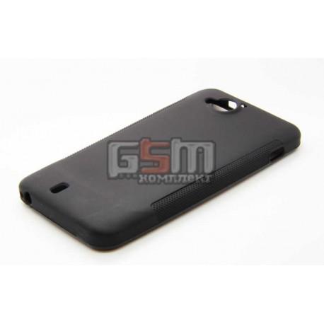 Чехол для мобильного телефона Fly IQ444, силиконовый, черный