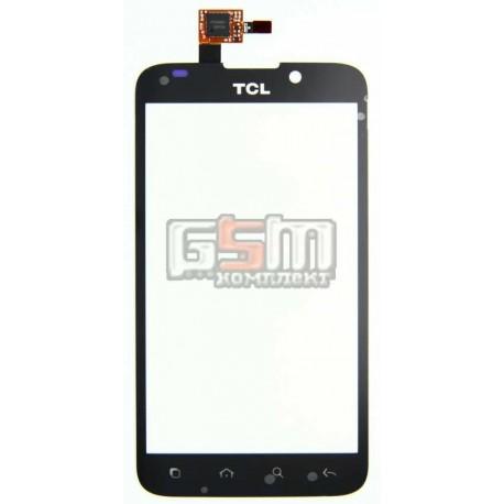 Тачскрин, сеносрный Дисплей для Alcatel OT995, TCL A998, черный