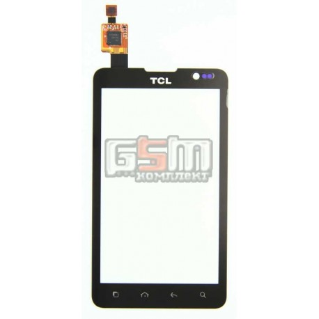 Тачскрин, сеносрный Дисплей для Alcatel OT996, TCL A996, черный