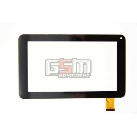 Тачскрін (сенсорний екран, сенсор) для китайського планшету 7, 30 pin, с маркировкой TYF1039V3, TYF-20121122-1039V3, OPD-TPC183 FPC, LLT-P27602A, FM700405KD, FM700405KA, JQ7040FP-03, FPC-TP070129(86VS), ZHC-158A, HK70DR2201-V01, для Jeka JK-700, JK701, JK