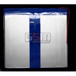 Аккумулятор для китайского планшета, универсальный (134*124*3,0 мм), (Li-ion 3.7V 6000mAh)