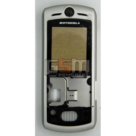 Корпус для Motorola L7, серебристый, копия ААА
