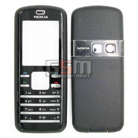Корпус для Nokia 6080, черный, копия ААА