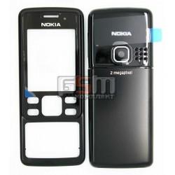 Корпус для Nokia 6300, high-copy, чорний