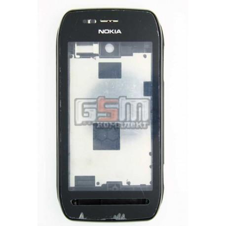 Корпус для Nokia 603, копия AAA, черный