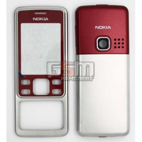 Корпус для Nokia 6300, красный, копия ААА