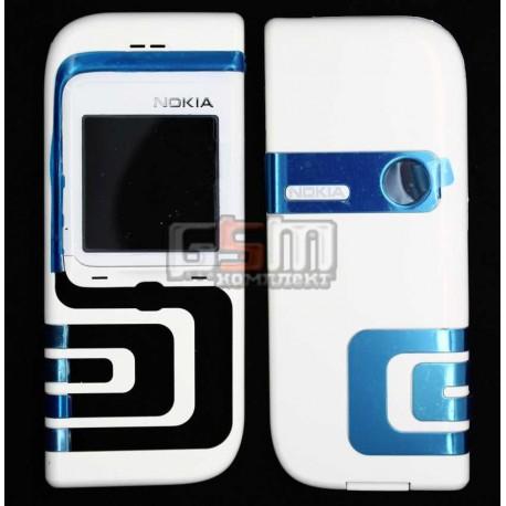 Корпус для Nokia 7260, копия AAA, белый