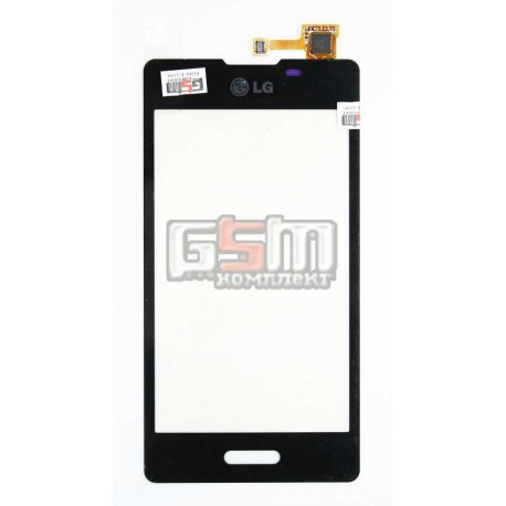 Тачскрин для LG E450 Optimus L5x, E460 Optimus L5, черный