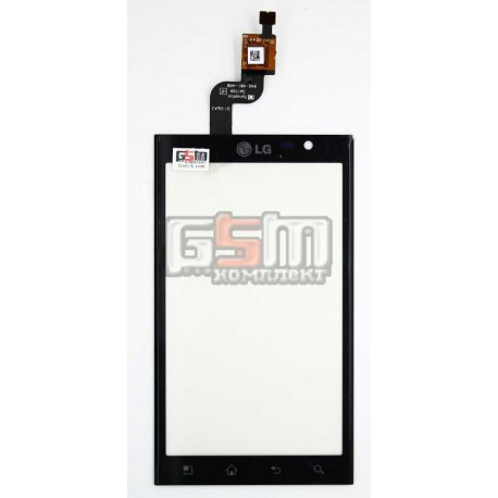 Тачскрин для LG P920 Optimus 3D, черный