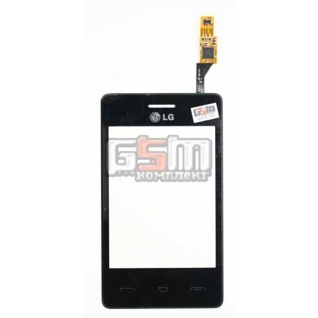 Тачскрин для LG T370, T375, черный