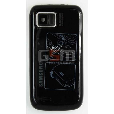Корпус для Samsung I8000 Omnia II, черный, копия ААА