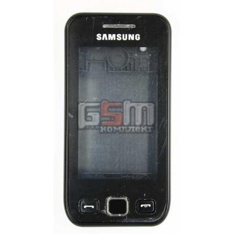 Корпус для Samsung S5250, копия AAA, черный