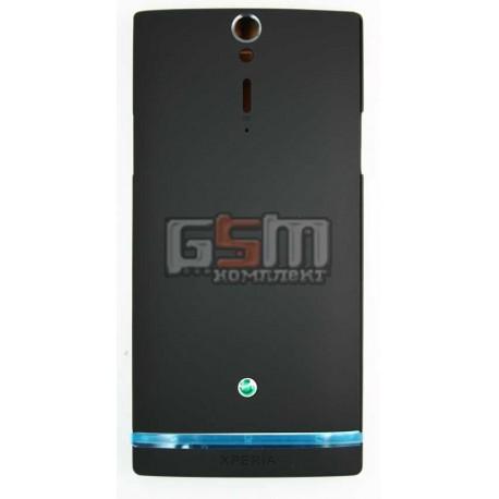 Корпус для Sony LT26i Xperia S, LT26ii Xperia SL, черный